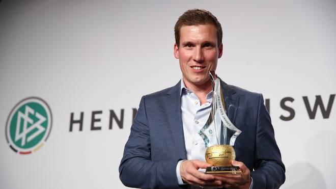 Hannes Wolf ist der neunte Trainer, der den Trainerpreis vom DFB erhält