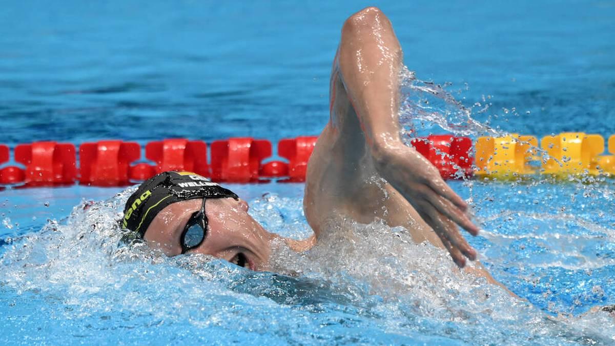 Florian Wellbrock verpasste eine Medaille über 800 m Freistil