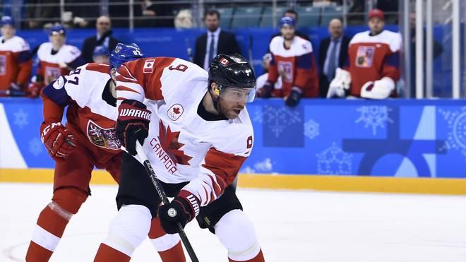Der Kanadier Derek Roy 2018 bei den Olympischen Spielen in Pyeongchang