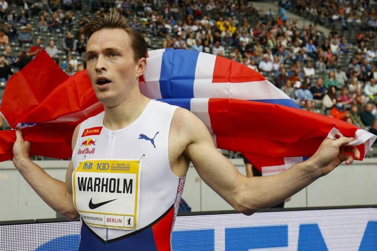 Die Weltrekordler Karsten Warholm (Norwegen) und Ryan Crouser (USA) führen die Auswahl der Nominierten für die Wahl zum Welt-Leichtathleten 2021 an.