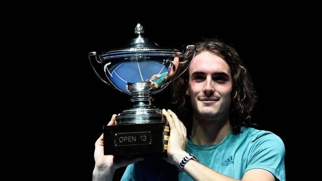 Stefanos Tsitsipas holte in Marseille seinen zweiten Turniersieg auf der ATP-Tour