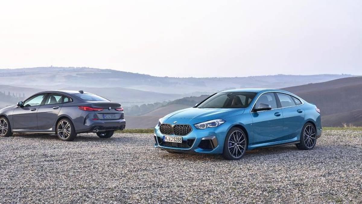 Neu mit Stufe: Den BMW Zweier wird es erstmals als Gran Coupé geben