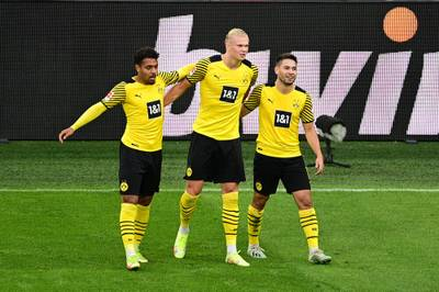 Borussia Dortmund gewinnt gegen Union Berlin spektakulär und feiert den dritten Heimsieg in dieser Saison. Raphael Guerreiro und Erling Haaland treffen traumhaft.