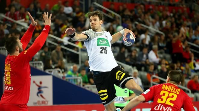 Die deutschen Herren lassen Montenegro im ersten Gruppenspiel keine Chance