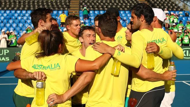 Davis Cup: Australien, Italien, Japan und Kasachstan erreichen Finalturnier