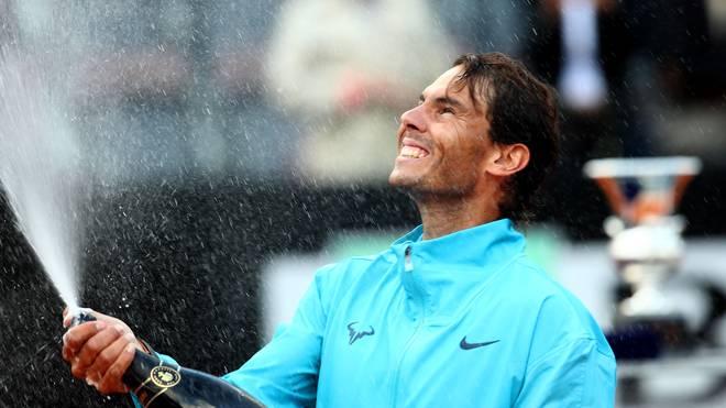 International BNL d'Italia - Nadal Siegerehrung