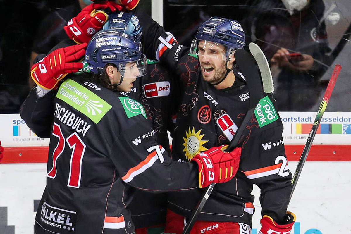 Die Düsseldorfer EG ist in der Deutschen Eishockey Liga (DEL) wieder in die Erfolgsspur zurückgekehrt.