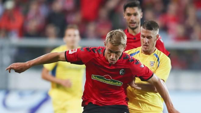 SC Freiburg v NK Domzale - UEFA Europa League Third Qualifying Round: First Leg