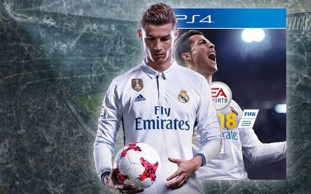 Cristiano ziert das Cover von FIFA 18.