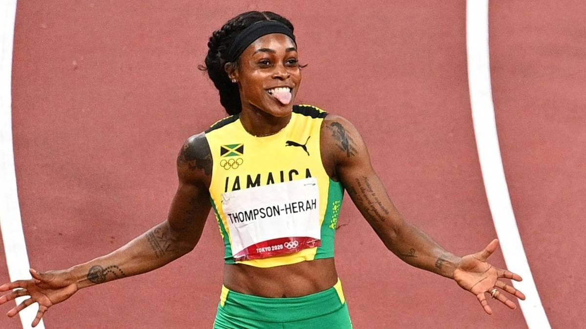 Elaine Thompson-Herah verpasst knapp den Weltrekord