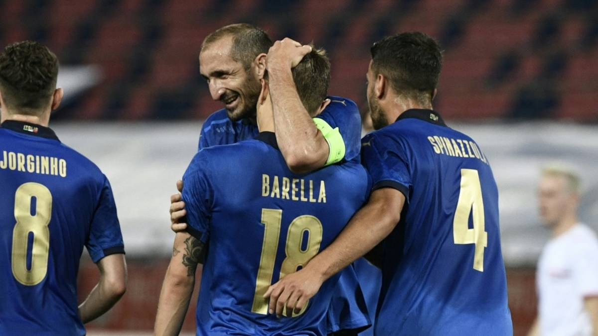 Italien zeigt sich schon vor dem Start in EM-Form
