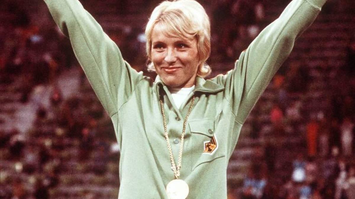 Hildegard Falck siegte bei Olympia 1972 über 800 Meter
