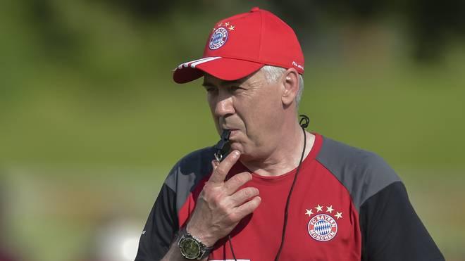 Carlo Ancelotti soll die Bayern in dieser Saison zum Triple führen