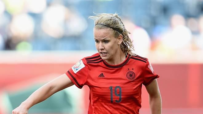Lena Petermann kann gegen England nicht spielen
