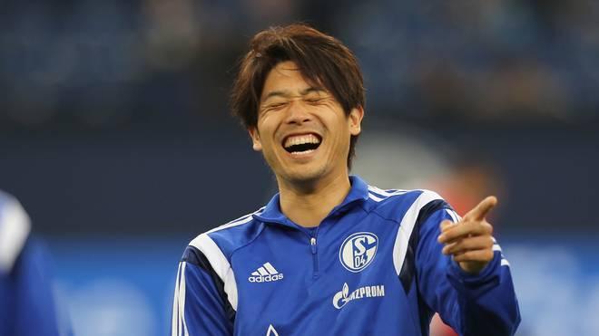 Atsuto Uchida freut sich auf seinen ersten Einsatz  für Schalke 04 nach langer Zeit