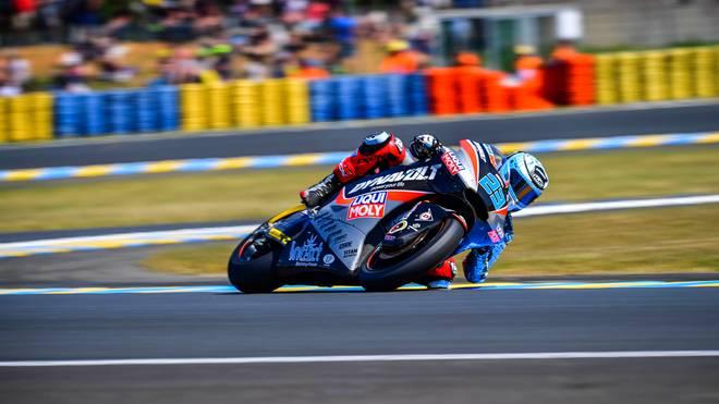 Marcel Schrötter fuhr erstmals auf das Moto2-Podest