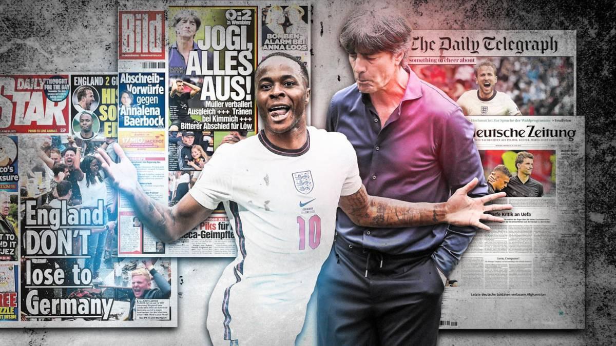 EM 20 Pressestimmen zum England Sieg gegen Deutschland