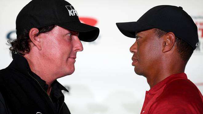"""Golf: Tiger Woods vs. Phil Mickelson in """"The Match"""" LIVE im TV"""