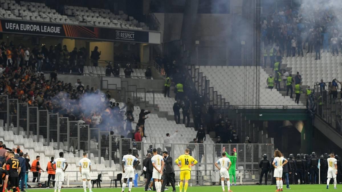 Randale bei Marseille-Spiel - Polizisten verletzt