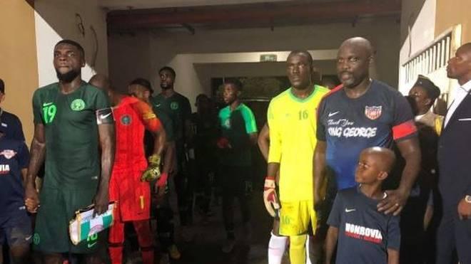 Der ehemalige Weltfußballer George Weah spielt mit 51 noch einmal für Liberia