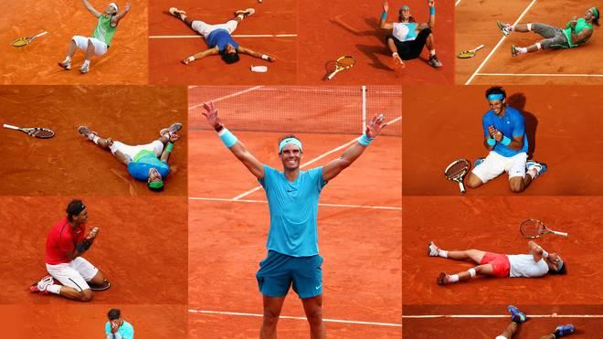French Open: Rafael Nadal - King Of Clay Raphael Nadal ist der unangefochtene König von Roland Garros. Ganz elf Mal hat sich der Spanier bisher den Pokal in Paris geholt