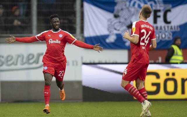 Kingsley Schindler spielt seit 2016 für Holstein Kiel