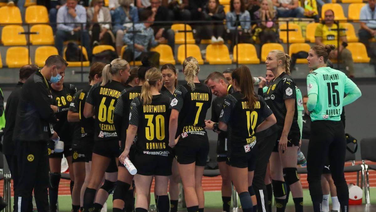 Die BVB-Handballerinnen konnten am Dienstagmorgen nicht trainieren
