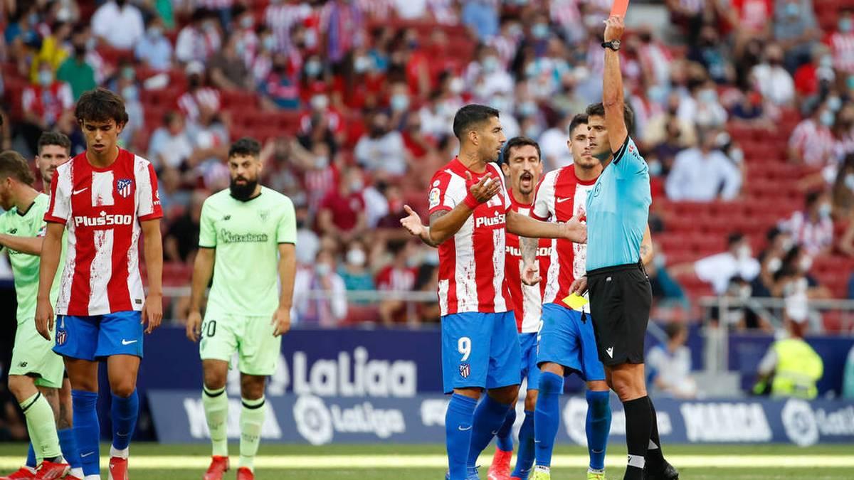 Gelb-Rot, aber Atletico-Star kriegt doppelte Strafe