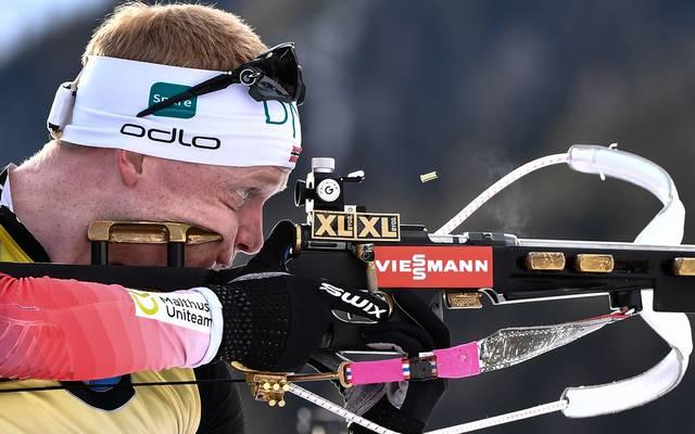 Biathlon: Johannes Thingnes Bö muss in der Weltcup-Wertung kostbare Punkte abgeben