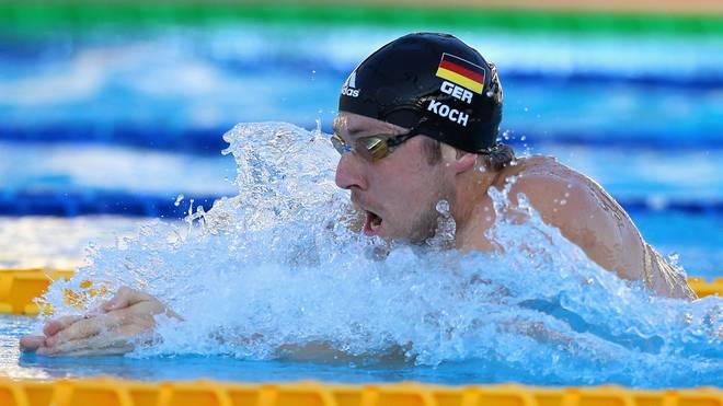 Schwimm-WM: Marco Koch überzeugt, Freistilstaffel holt Olympia-Ticket