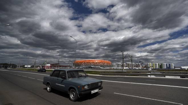 Die russischen Straßen und das Fahrverhalten der Einheimischen wirken für Ausländer oft vrwirrend