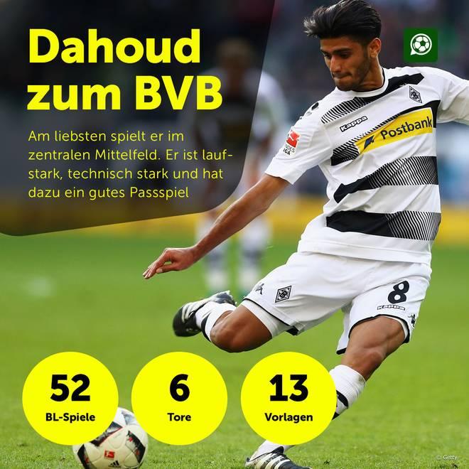 Die Statistik von Mahmoud Dahoud