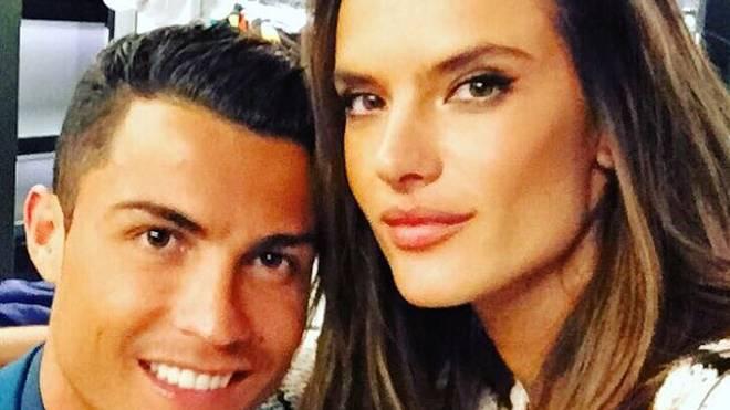 Cristiano Ronaldo und Alessandra Ambrosio