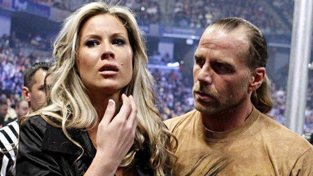 Shawn Michaels' Frau Rebecca war 2008 in der Fehde gegen Chris Jericho bei WWE zu sehen