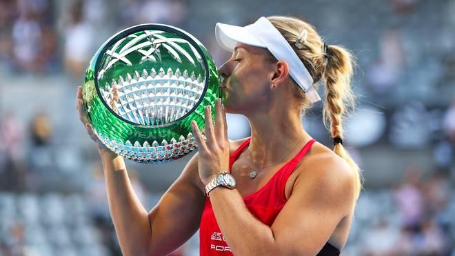 Angelique Kerber sicherte sich in Sydney ihren ersten Titel seit zwei Jahren