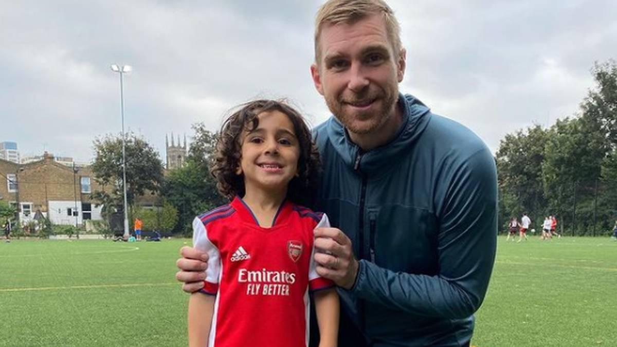 Das fünfjährige Wunderkind, das für Arsenal spielt