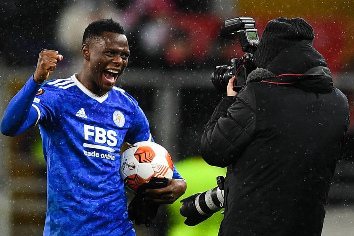 Patson Daka trifft für Leicester City in der Europa League in 33 Minuten viermal. Der ehemalige Salzburger wandelt auf den Spuren von Erling Haaland und Sadio Mané.