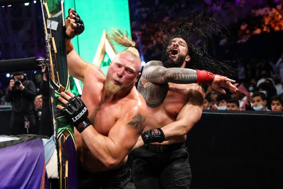 WWE veröffentlicht den Kalender der Pay Per Views für 2022 - er beinhaltet eine Frontalattacke auf den aufstrebenden Rivalen.