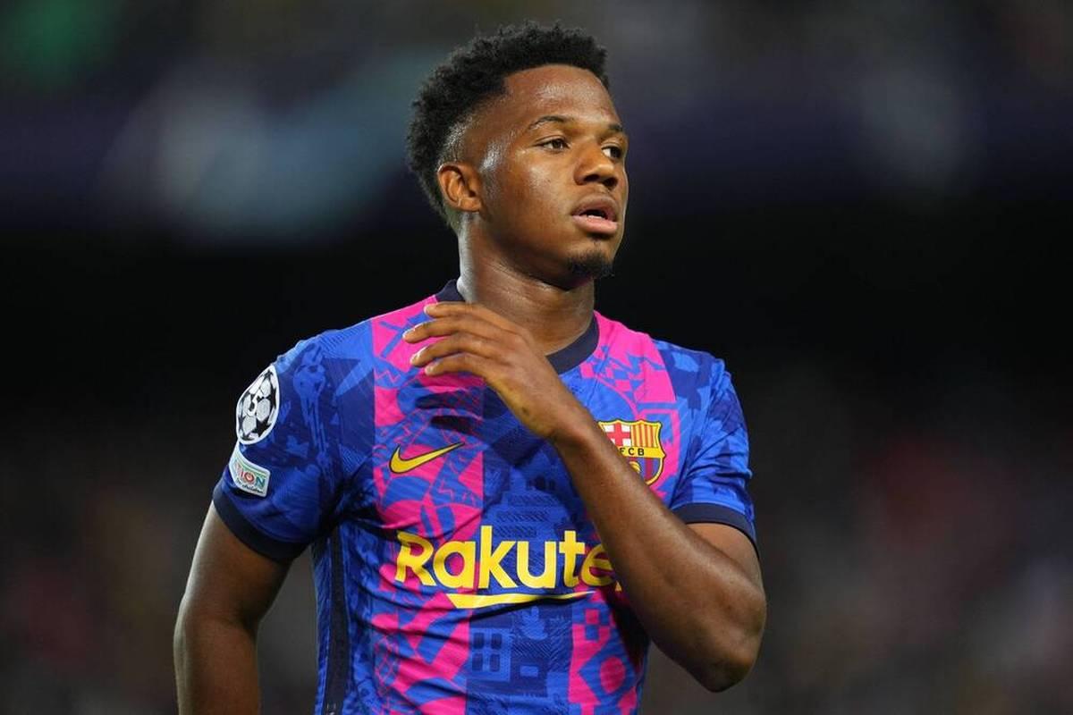 Der FC Barcelona wird weiter vom Verletzungspech verfolgt Nun erwischte es erneut Youngster Ansu Fati.