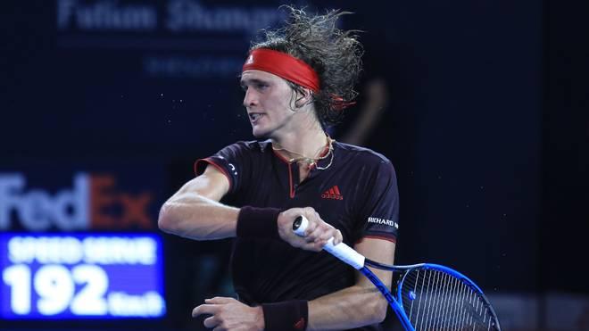 Alexander Zverev verlor sein Viertelfinale gegen Damir Dzumhur