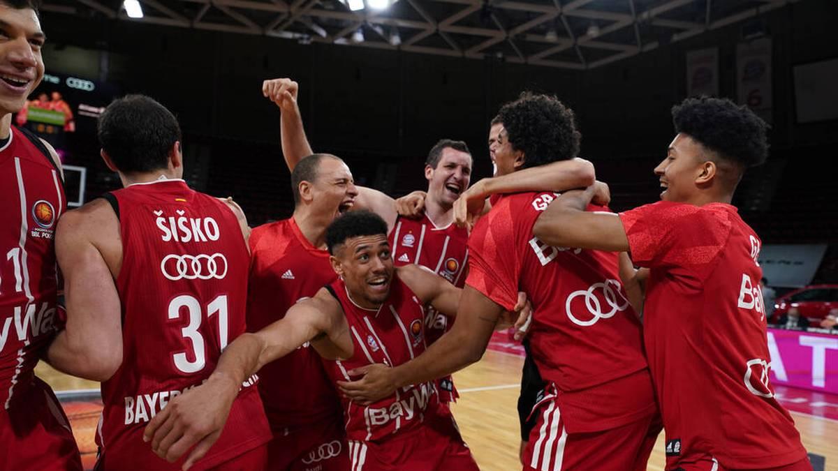 Der FC Bayern Basketball gewinnt nach zwei Jahren seinen ersten Titel