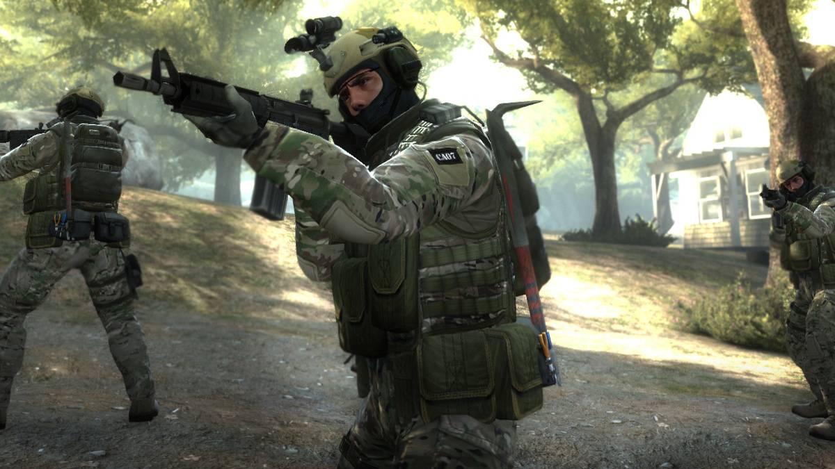 Counter-Strike auf der Karte Lake