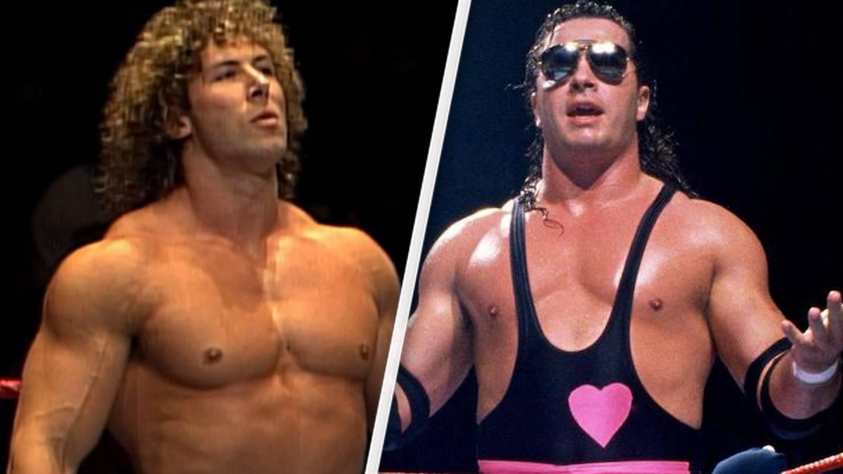 """""""MegaMan"""" Tom Magee (l.) bestritt ein legendäres WWE-Match gegen Bret Hart"""