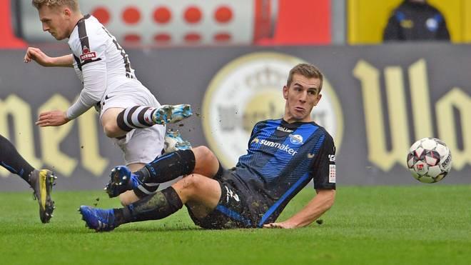 Zweite Liga: Uwe Hünemeier nach Platzverweis zwei Spiele gesperrt, Uwe Hünemeier fehlt dem SC Paderborn in den nächsten beiden Spielen