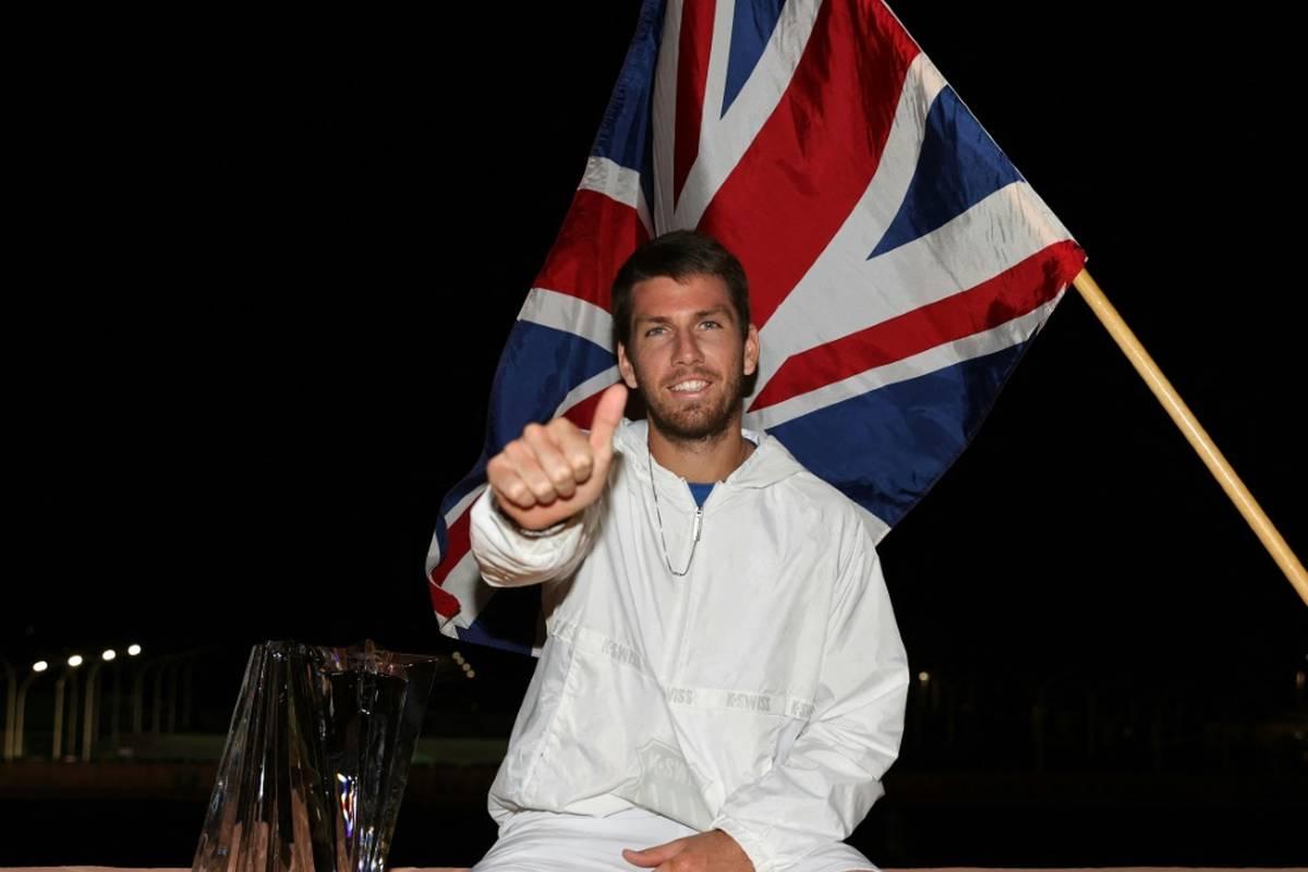 Cameron Norrie hat als erster Brite das Tennisturnier in Indian Wells gewonnen.