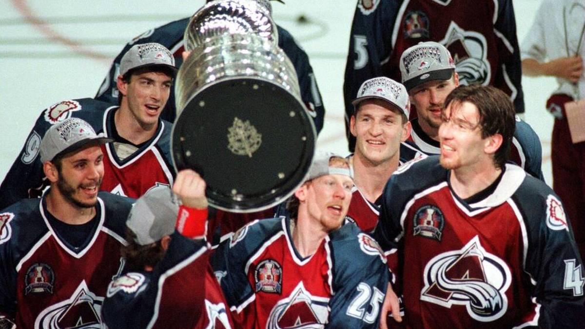 Uwe Krupp gewinnt mit Colorado Avalanche den Stanley Cup
