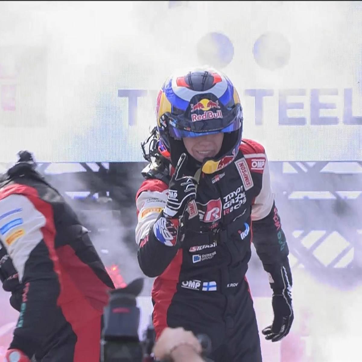 Rovanperä ist jüngster WRC-Sieger aller Zeiten - Tänak verzweifelt