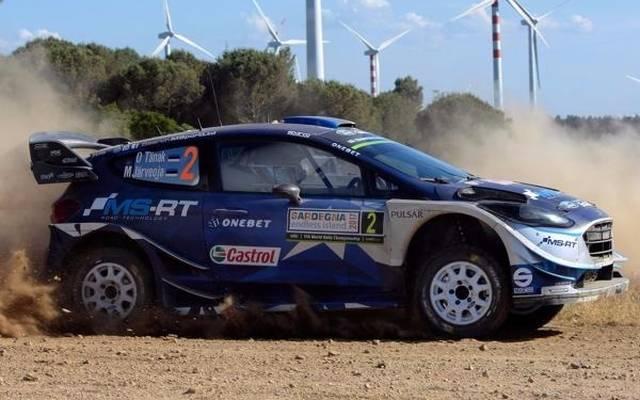 Ott Tänak ist der neue Spitzenreiter der Rallye Sardinien