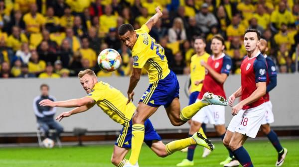 Robin Quaison empfiehlt sich erneut in der schwedischen Auswahl und geht wieder als Gewinner aus der Länderspielpause