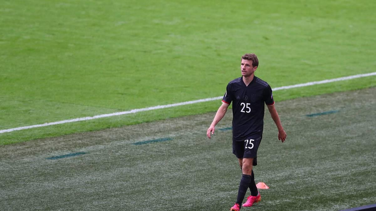Thomas Müller ist weiterhin ohne EM-Tor
